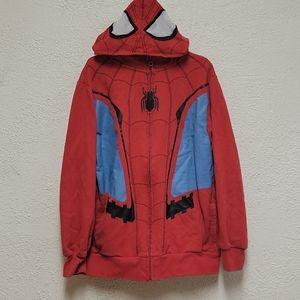 Spiderman Avengers End Game Kids Zip Up Sweatshirt